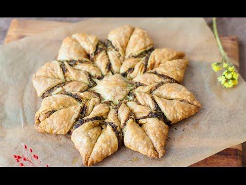 gâteau-étoile-au-pesto