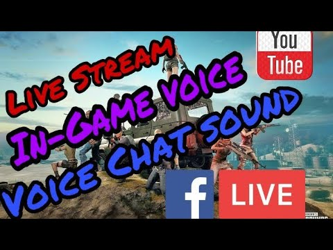 How to stream with Internal sound and Voice chat    PUBG mobile