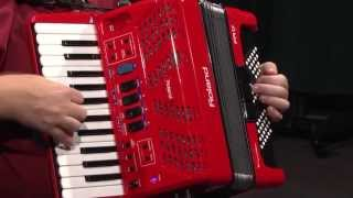 Download Roland FR-1X Piano V-Accordion with Speaker Overview | Full Compass