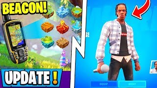 *NEW* Fortnite Update! | See *ALL* Players on Map, Travis Scott Skin, Hardcore!