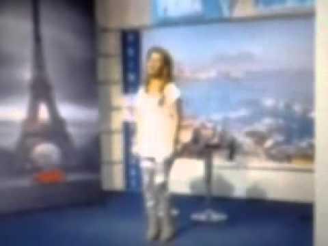 GUIDA MARIO CESA  TRESY DI FINIZIO OSPITE A PRIMA TV NAPOLI