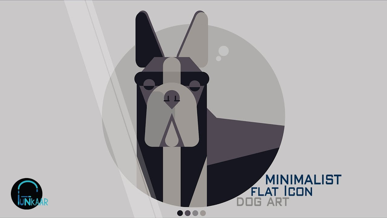 Speed drawing how to draw a geometric minimal flat icon dog speed drawing how to draw a geometric minimal flat icon dog art adobe illustrator tutorial ccuart Images
