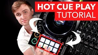 Hot Cue Play DJ Tutorial - DJ Mixing Techniques with Crossfader