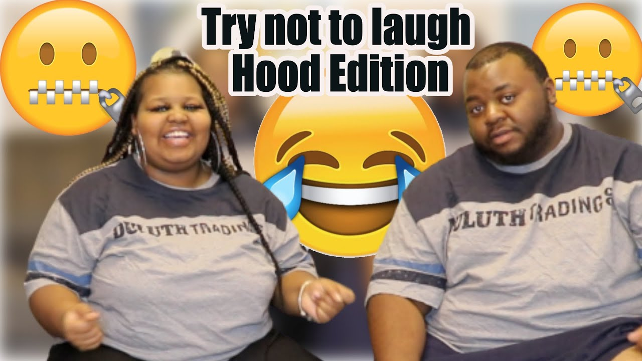 Boyfriend vs Girlfriend TRY NOT TO LAUGH(Hood Edition)