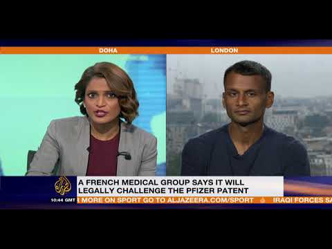 MSF's battle against unmerited patent grant for pneumonia vaccine to Pfizer