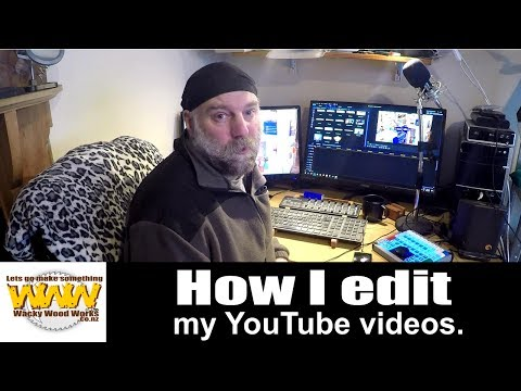 How I edit my videos - X-Keys - Off the Cuff - Wacky Wood Works.