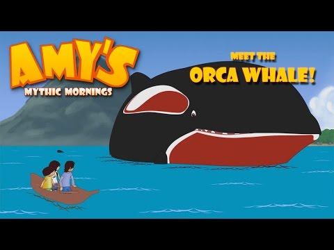 Kids Meet An Orca Whale Amazing Adventure! - Amy's Mythic Mornings