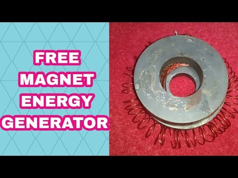 Magnet Motor Energia Libre_How  Make Free Energy Light Bulb Electricity Generator_engineering device