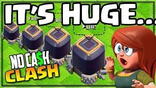BIGGER Than EVER! Insane Dark Elixir No Cash Clash of Clans #37