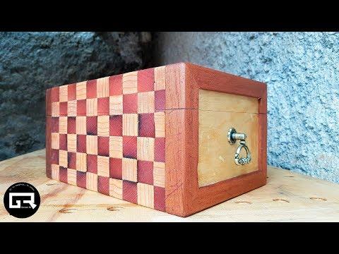BAUL DE MADERA VINTAGE / WOODEN CHEST DIY