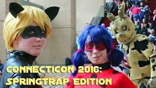 ConnectiCon 2016 Cosplay - SPRINGTRAP EDITION