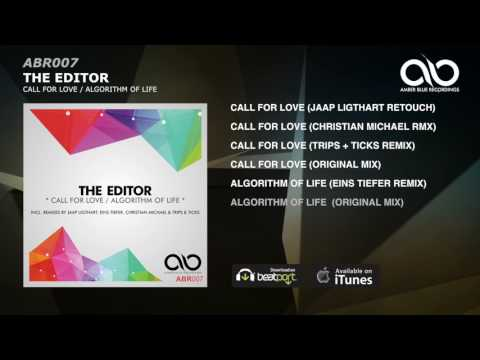 THE EDITOR - Algorithm Of Life (Original Mix)