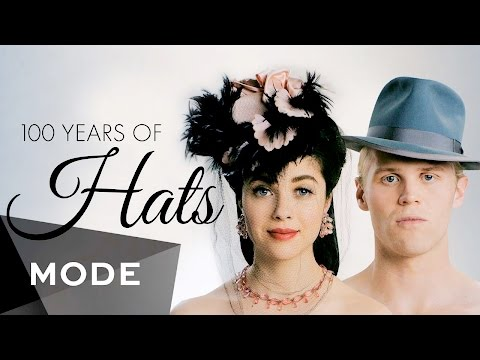 100 Years of Fashion: Hats ★ Mode.com