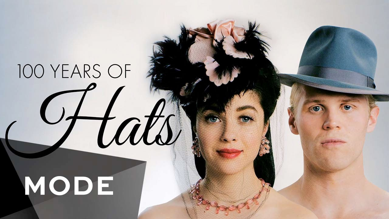 100 Years Of Fashion Hats Glam Youtube