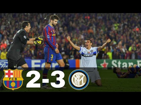 Barcelona Vs Inter 2-3 – All Goals & Highlights | Champions League 2009/10