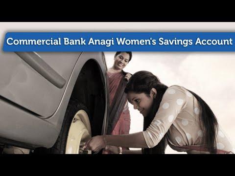 Commercial Bank Anagi Women's Savings Account