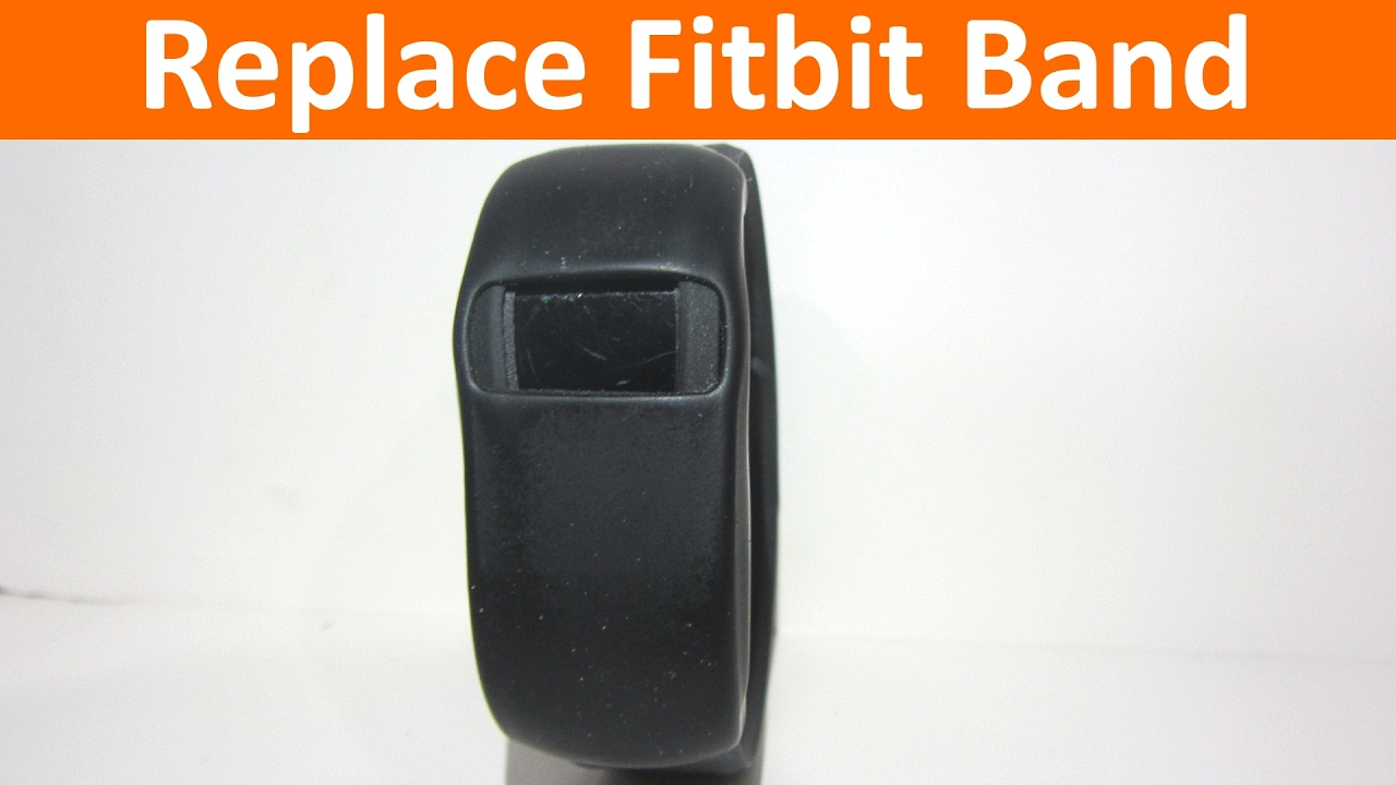 Replace Broken Band on your Fitbit Charge or Charge HR