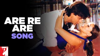 Are Re Are Song | Dil To Pagal Hai | Shah Rukh Khan | Madhuri Dixit | Lata Mangeshkar | Udit Narayan