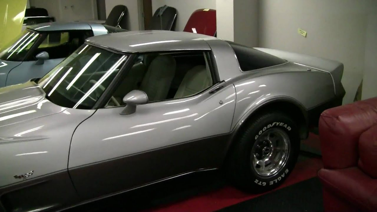 0 Apr Car >> 1978 Corvette Silver Anniversary for Sale - YouTube