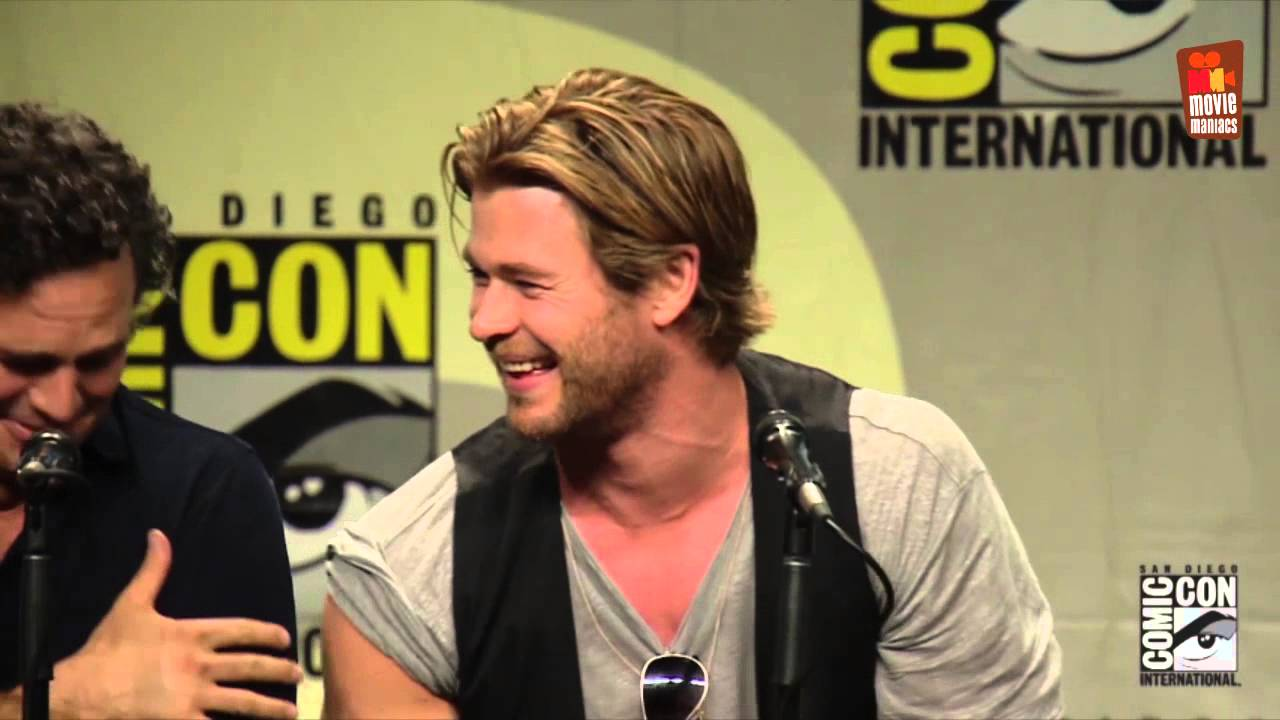 Avengers 2 Age Of Ultron Full Comic Con Panel 2014 Youtube