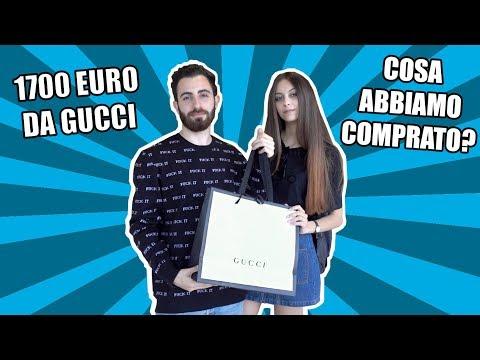 COME SPENDERE 1700 EURO DA GUCCI IN VENTI MINUTI!! [VIDEO SPECIALE]