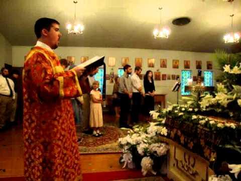 Arise, O God - St. Symeon's Orthodox Choir