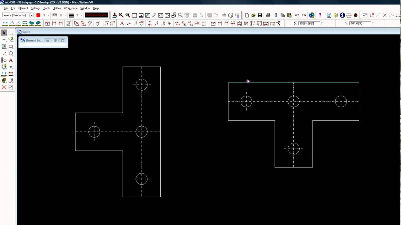 microstation v8 how to make a group youtube. Black Bedroom Furniture Sets. Home Design Ideas