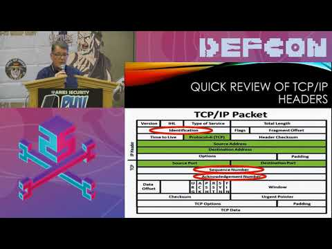 Packet Hacking Village 2017 - MODERN DAY COVERT TCP WITH A TWIST BY MIKE RAGGO & CHET HOSMER