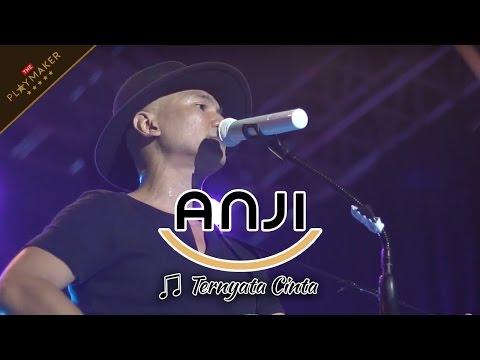 TERNYATA CINTA | ANJI KESAL BANGET Sama Penonton Yang Ribut Pas Dia Bawain Lagu ini Live Cirebon
