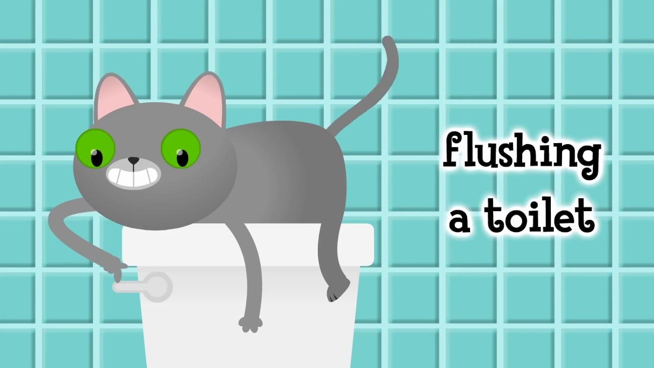 PARRY GRIPP - CAT FLUSHING A TOILET LYRICS