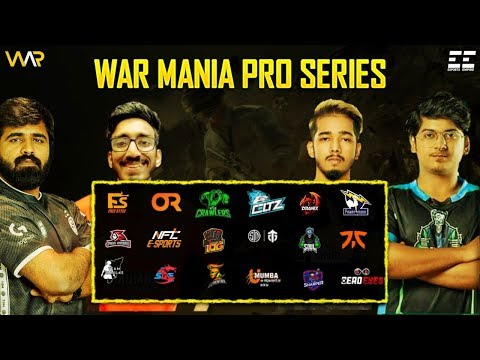 war-mania-pro-series-|-with-international-pmpl-teams-|-ft.-soul,-fnatic,-entity,-nft,-or,-etc