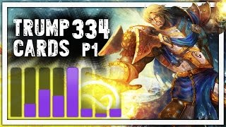 hearthstone trump cards 334 hammer love part 1 paladin arena