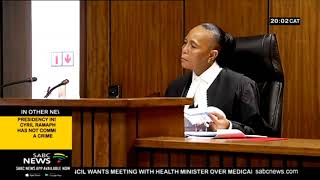 Sanef comes to grips with EFF in court