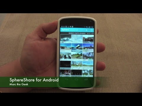 SphereShare for Android - Share & See Photos Sphere Pictures