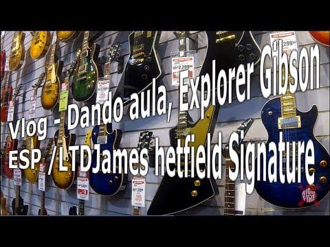 Vlog 01   Masterizando Dando Aula, Judas Priest, Explorer Gibson, Ltd James Hetfield