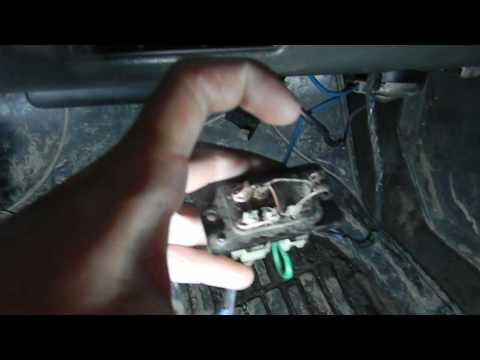 реостат печки ремонт в поливых условиях  на мазде 626