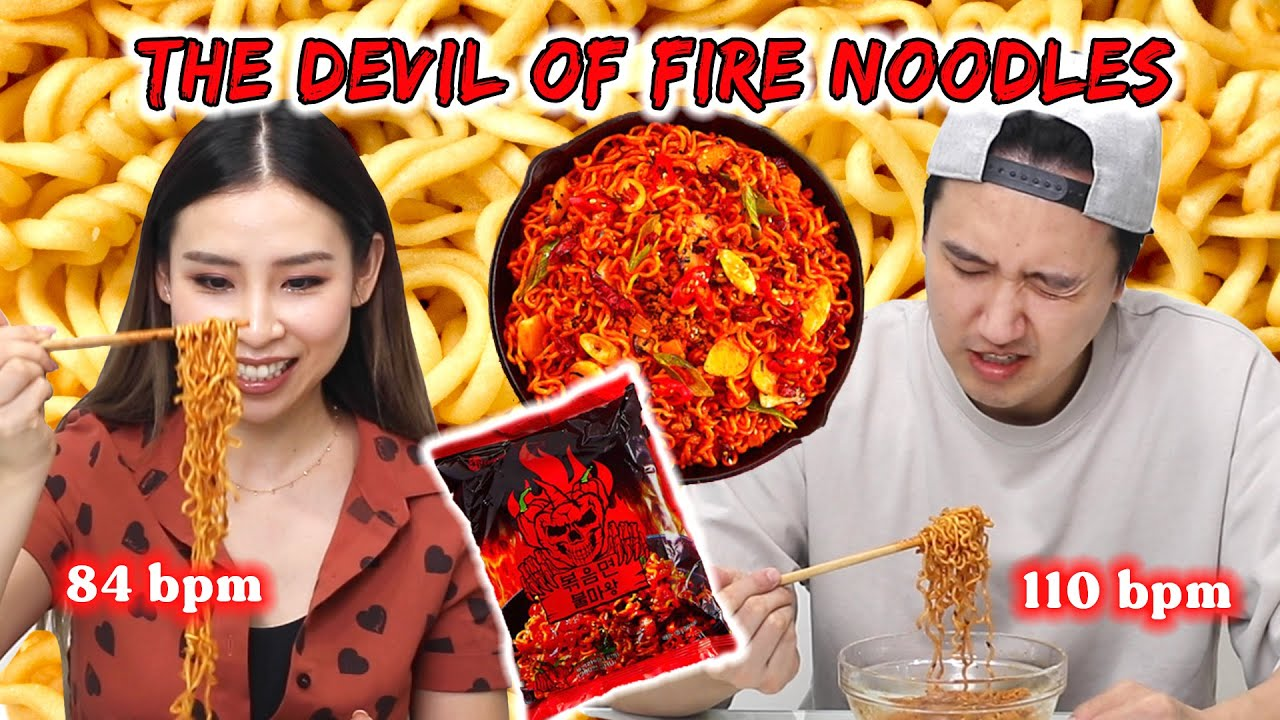 Download We Tried The Spiciest Noodles in Korea *whilst wearing a heart rate monitor* 🔥
