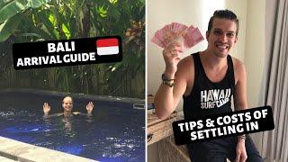 BALI, CANGGU ARRIVAL GUIDE | TIPS & COSTS | Bali First week