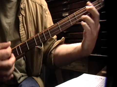 NORWeigan Wood TAB Lesson Stick dulcimer