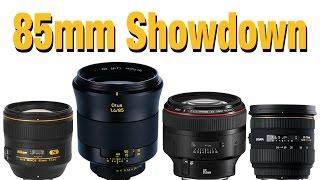 85mm Showdown - Otus Nikon Canon Sigma
