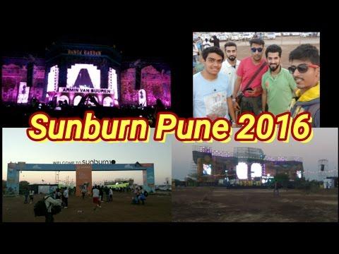Vlog #6 | Sunburn Pune 2016 (Day 1) | Armin van Buuren, Dannic & more.. ❤
