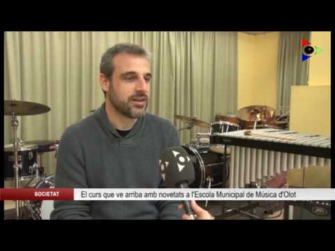 L'Escola Municipal de Música d'Olot compactarà els horaris de nivell elemental
