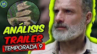 Análisis del Trailer de la Temporada 9 - The Walking Dead