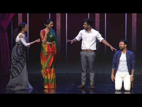 #NayikaNayakan l Chackochan and team perform '4 the people' I Mazhavil Manorama
