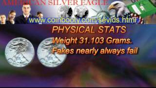 Fake American Silver Eagle Coin Scams
