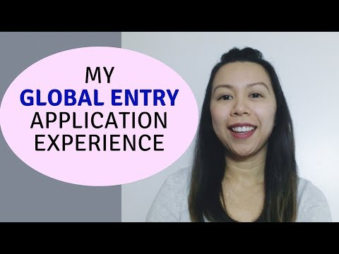 Global Entry Application Process Experience