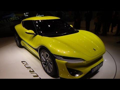 Concept - Nanoflowtex Quant Quantino - Geneva Motor Show 2016