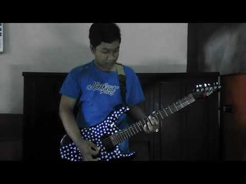 Papinka 'Hitungan Cinta' play guitar by nughra