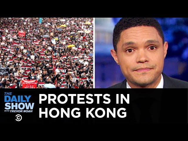 Victory for Hong Kong's Protesters, a Huge Cocaine Bust & Trump's Tampa Rally | The Daily Show