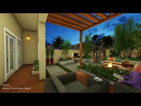 jumeirah village traingle, 9B-villa17,  dubai ( Aram Interior & Landscape design)